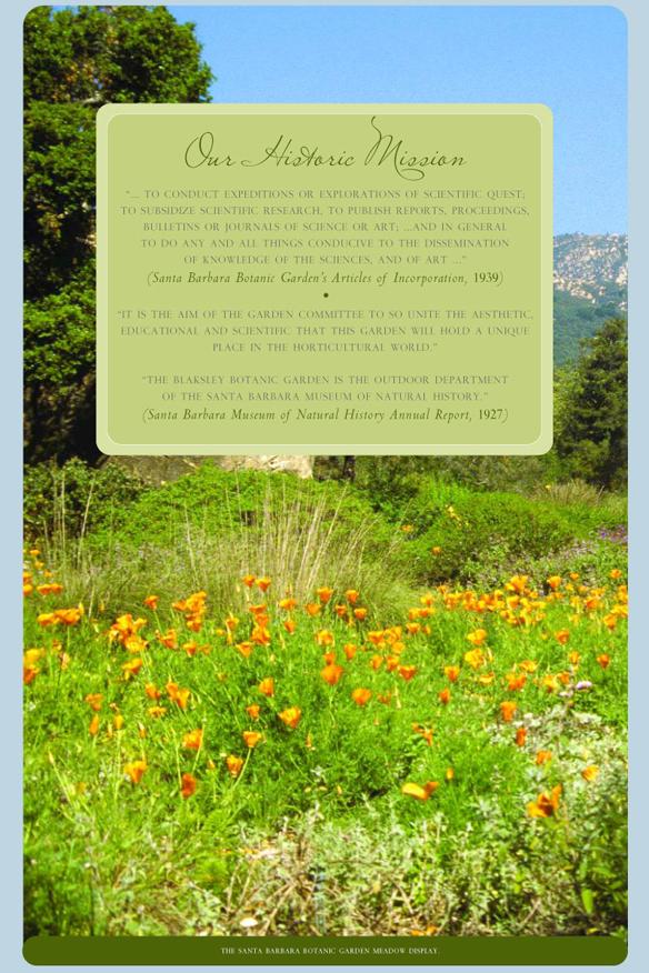 real estate santa barbara botanic garden - Santa Barbara Botanic Garden